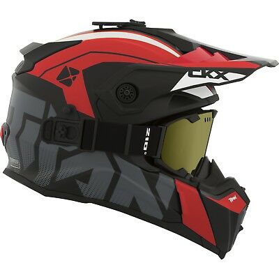 CKX - Titan Altitude Glossy Red Modular Snow Helmet - X-Large
