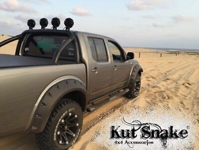 KUT SNAKE FLARES For Nissan Navara D40 All Years ABS Moulded Full Set