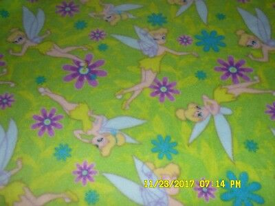 New Toilet Lid And Tank Lid Cover Set Fairy Tinker Bell