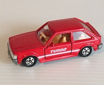 Hard To Find Tomica No4 Mazda 323 Familia 1500Xg 1/59 Scale Made In Japan