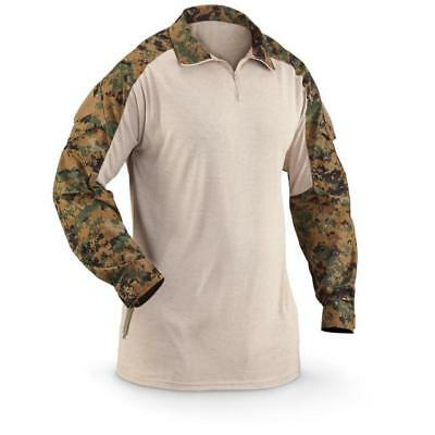 Crye Precision Ac Combat Shirt (pre G3) Woodland Digital XLarge Regular New