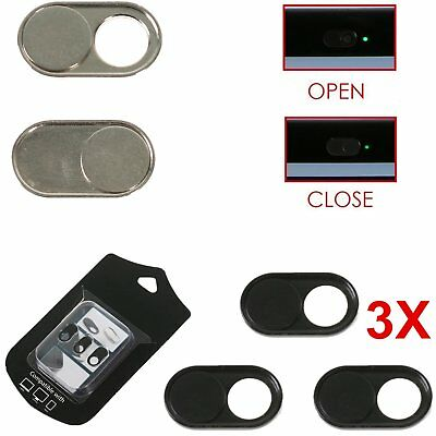 Web-cam Sliding Lens Cover Security for Laptop Android Tablet iPhone 3pcs/set