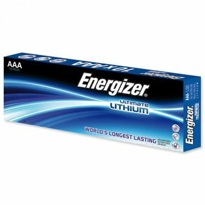 10 x Energizer Lithium Batterie AAA Micro LR03 FR03 MP3 Photo 1,5 V L92 lose