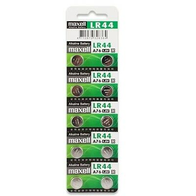 Maxell Lr44 A76 Replacement Battery For Finger Monkey,Sloth,Unicorn