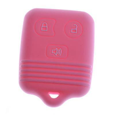 Pink MagiDeal Car 3-Buttons Remote Key Silicone Case Cover for Mazda