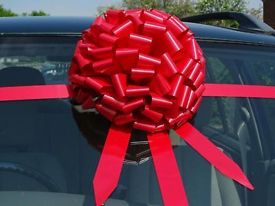 Large bow for car BIg ,gift bow ALL COLOURS  +SUPERFAST DISPATCH!!
