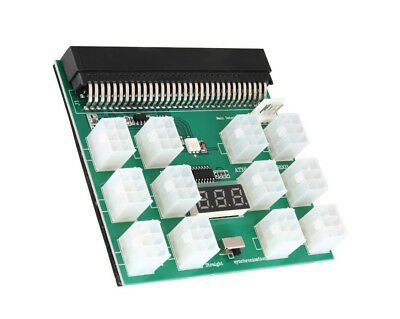 DPS-1200FB/QB A Power Supply 12 ports Breakout Board Adapter For Ethereum ZEC
