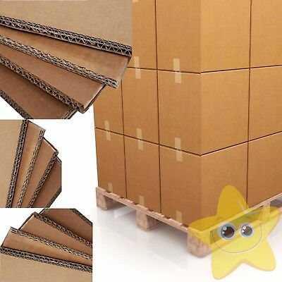 "18"" x 18"" x 18"" / 457x457x457mm - Double Wall Cardboard Boxes"