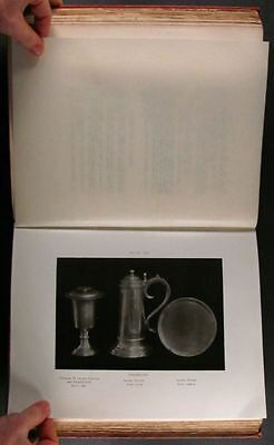 Antique Welsh Silver & Church Sterling in Wales, Diocese of Bangor -1906 Book