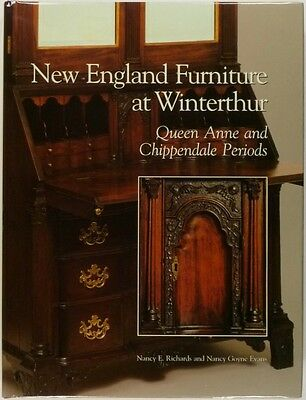 Antique Queen Anne + Chippendale New England American Furniture at Winterthur