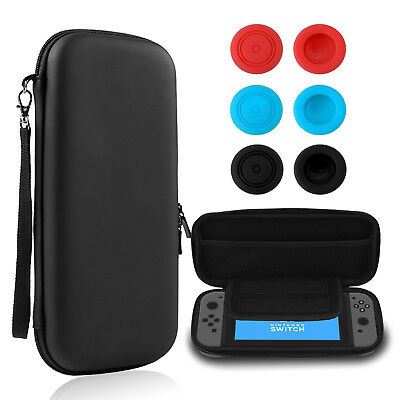 EVA Hard Shield Carrying Travel Case Storage Bag [Right-Fit] For Nintendo Switch