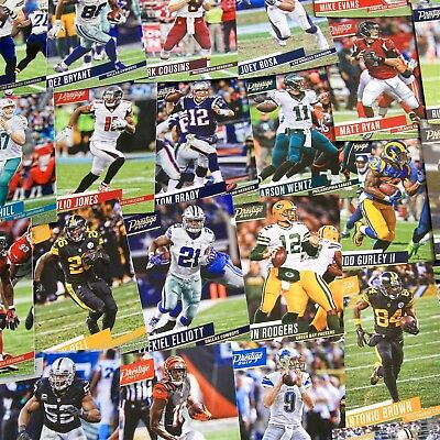 2017 Panini Prestige Football (NFL) - Base Singles - Choose & Complete Your Set!