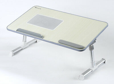 10%OFF Portable Folding Laptop Desk Adjustable height Netbook PC Table Stand Tra