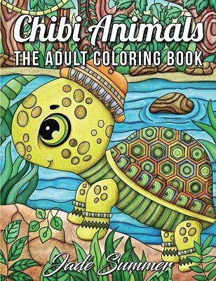 MALBUCH für ERWACHSENE ★ Chibi Animals: An Adult Coloring ★ Relaxing Art Therapy