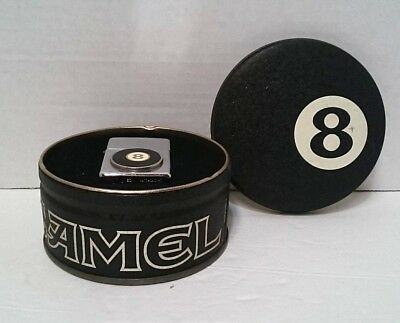Vintage Camel 8 Ball Zippo Lighter in Original Tin 1993