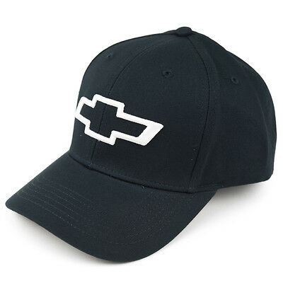 Chevy and Bowtie Bill Embroidered Hat Cap - Navy Blue - Free Shipping in a box