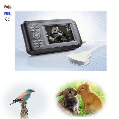 Veterinary Handheld, palmtop ultrasound scanner For cow/horse with Convex Probe