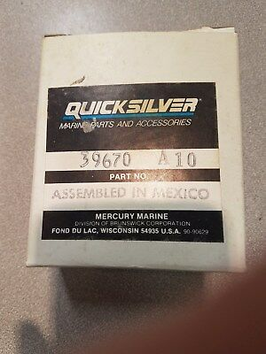 New Mercury Quicksilver Shift Switch #39670A10