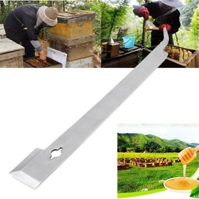 11 Inch Stainless Steel Beekeeper J Hook Beekeeping Hive Tool Uncapping Knife Ho