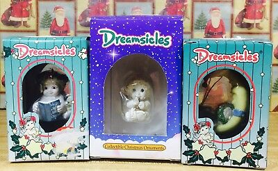 NIB DREAMSICLES LOT OF 3 figurines from COLLECTORS CLUB