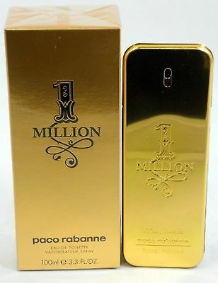 Paco Rabanne 1 MILLION 100ml  Eau De Toilette EDT NEU & CELLO VERSIEGELT