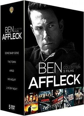 DVD Ben Affleck - Collection 5 films : Argo + The Town + Mr. Wolff + Live by Nig