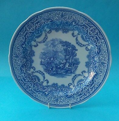 Boxed Spode Blue Room Collection Plate - Continental Views