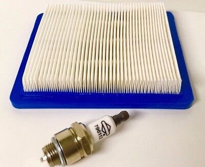 Briggs Tune Up kit Air Filter #491588 Spark Plug RJ19LM J19LM