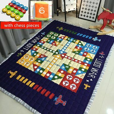 Ustide Flying Airplane Carpet Flight Chess Family Game Toy Mats For Kids,Baby