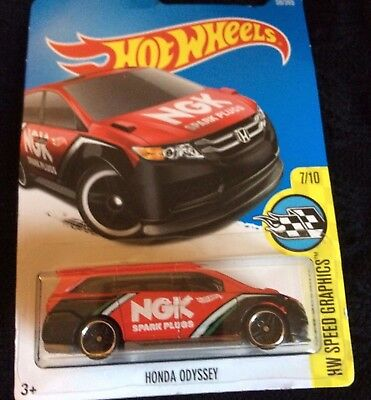 Hot Wheels 2017 honda odyssey HW Speed Graphics 7//10 dtx63