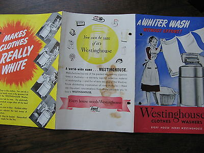 Westinghouse Washing Machine Pamphlet
