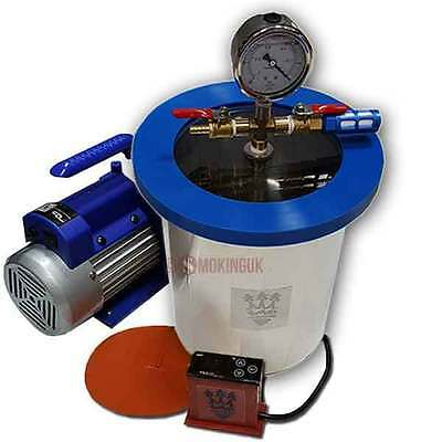 SMO-KING Vacuum Degassing Chamber 1 Gallon -  4.5 Litre - Full Kit