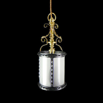 Quality Brass Hanging Lantern : Full Polish,Lacquered and  Wired Ready to Hang