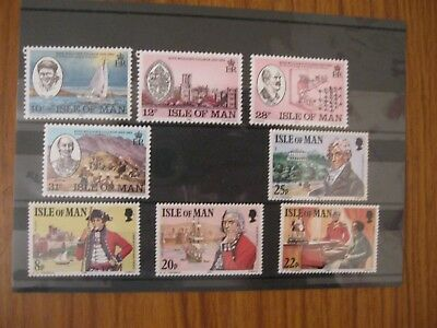Two Sets  Commemoratives From Isle Of Man  Top Quality,