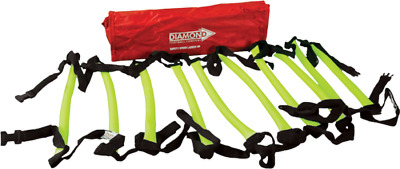 NEW DIAMOND FOOTBALL SAFETY SPEED AGILITY SPORTS LADDER 2m, 4m, 9m  + BAG