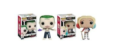 Funko POP! Suicide Squad: Harley Quinn & The Joker - Toy Figures