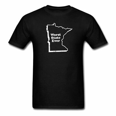 MINNESOTA - WORST STATE EVER Men's T-Shirt by Spreadshirt™