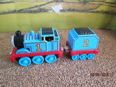 Die Cast Thomas & Friends - Thomas With #2 Coal Tender Good Used