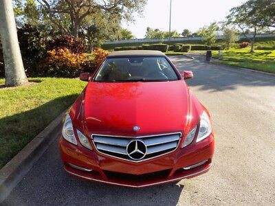 2012 Mercedes-Benz E-Class  2012 E350 CABRIOLET CONVERTIBLE CLEAN 1 OWNER CARFAX PREMIUM 2 PKG AMG WHEELS FL