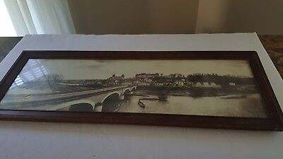 """Bridge view Picture. 25"""" × 9 1/4"""".Not Sure Where This Is."""