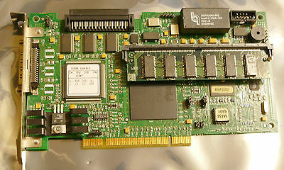 HP NetRaid-1SI 1-CHANNEL SCSI PCI Controller D2140-60004 w/16MB SIMM Intel i960