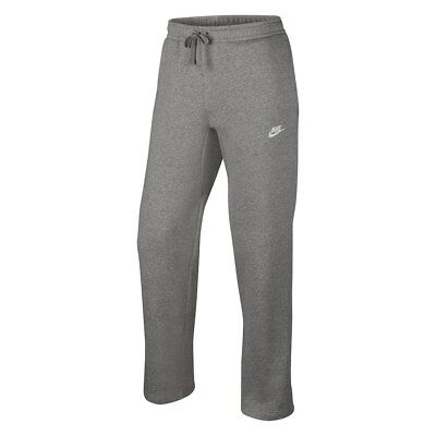 NWT NIKE Boy's Fleece Sweatpants GRAY M L XL