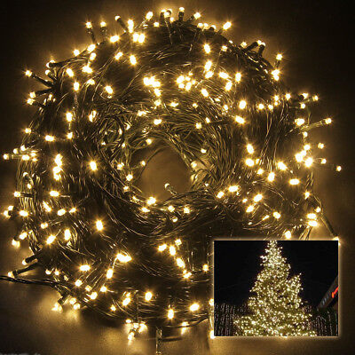 30m led lichterkette weihnachtsbaum tannenbaum christbaum au en garten balkon eur 2 02 picclick de. Black Bedroom Furniture Sets. Home Design Ideas
