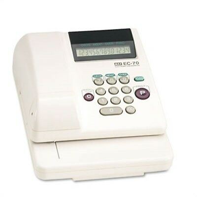 Electronic Checkwriter, 14-Digit, 3-5/8 x 9-5/8 x 7-7/8