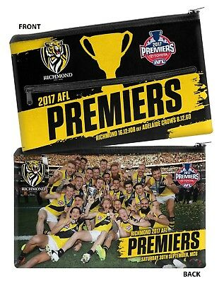 Richmond Tigers 2017 Premiers Premiership Pencil case IN STOCK NOW