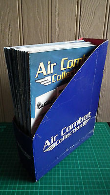 Air Combat Collection: Complete Set of Magazines w/ Holder - Excellent Condition