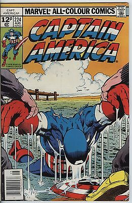 Captain America 224 from 1978 By Marvel Comics