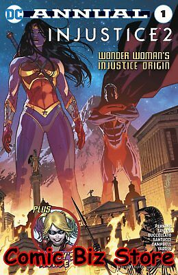 Injustice 2 Annual #1 (2017) 1St Printing Dc Comics Bagged  Boarded