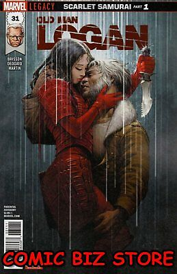 Old Man Logan #31 (2017) 1St Printing Bagged & Boarded Marvel Legacy Tie-In