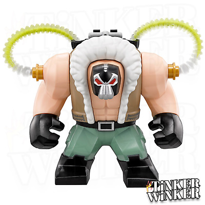 BANE - Minifigur Batman DC Marvel Spider Man Hulk Superman kompatibel mit LEGO
